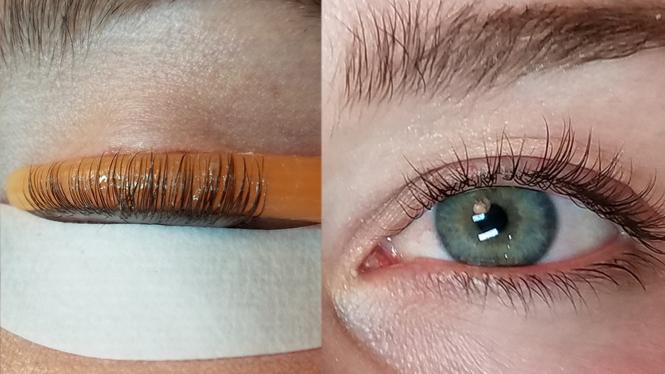 Getting eyelash perm in Singapore